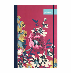 Joules-Cambridge Floral A5 Flexi Journal | Eve & Ranshaw