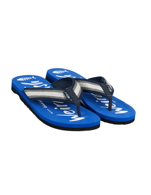 Weird Fish-Waterford Printed Flip Flop True Blue | Eve & Ranshaw