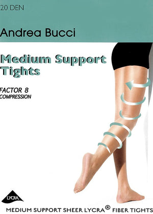 Andrea Bucci-20 Denier Medium Support Tights | Eve & Ranshaw