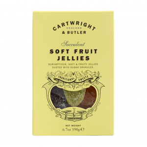 Cartwright & Butler-Fruit Jellies In Carton | Eve & Ranshaw