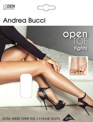 Andrea Bucci-Open Toe Tights 10 Den | Eve & Ranshaw