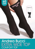 Andrea Bucci-Extra Wide 60 Den Opaque Knee High | Eve & Ranshaw