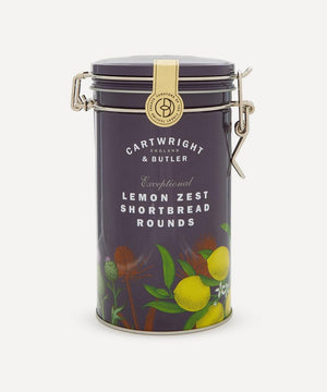 Cartwright & Butler-Lemon Zest Shortbread Rounds Tin | Eve & Ranshaw