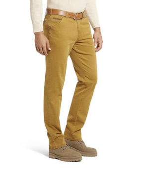 Meyer-Chicago Trousers Gold | Eve & Ranshaw