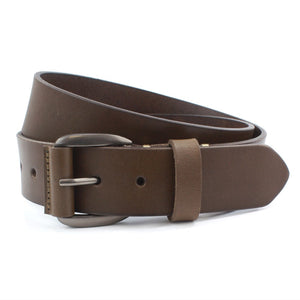 Sophos-Full Hide Leather Jeans Belt | Eve & Ranshaw