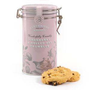 Cartwright & Butler-Cranberry Crumbles Tin | Eve & Ranshaw