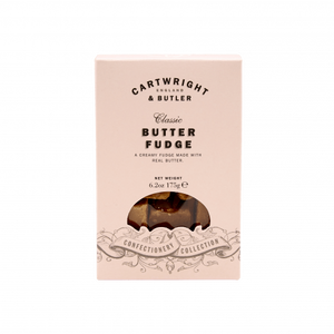 Cartwright & Butler-Butter Fudge Carton | Eve & Ranshaw
