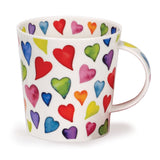 Dunoon-Warm Hearts Cairngorm Fine Bone China Mug | Eve & Ranshaw