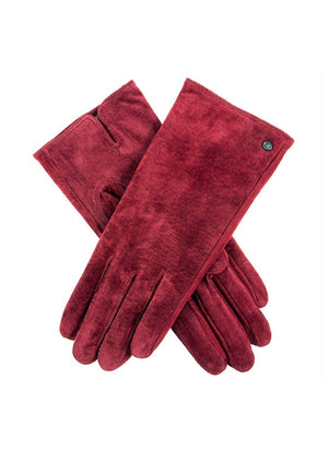 Dents-Pigsuede Gloves Classic Plain | Eve & Ranshaw