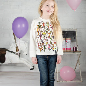 Selfie Clothing Co-Ice Cream Kitty Colour In Top | Eve & Ranshaw