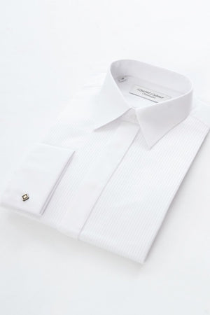 David Latimer-Dress Shirt With Standard Collar