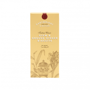 Cartwright & Butler-Stem Ginger Biscuits Carton | Eve & Ranshaw