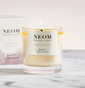 Neom-1 Wick Complete Bliss Scented Candle | Eve & Ranshaw