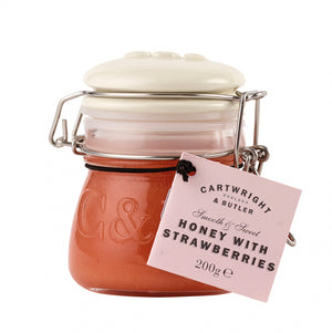 Cartwright & Butler-Honey With Strawberries In Globe Jar | Eve & Ranshaw