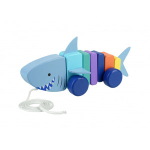 Orange Tree Toys-Shark Pull Along | Eve & Ranshaw