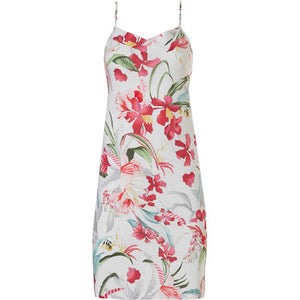 Pastunette-Luxe Original Spaghetti Nightdress Tropical Flower | Eve & Ranshaw