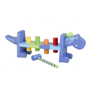 Orange Tree Toys-Dinosaur Hammer Bench | Eve & Ranshaw