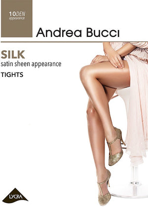 Andrea Bucci-10 Denier Silk Sheer Tights | Eve & Ranshaw