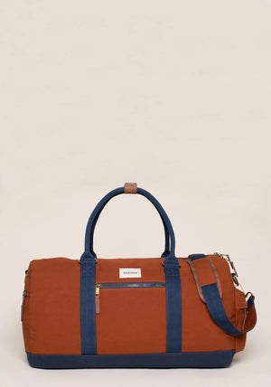 Brakeburn-Burnt Orange Duffle Bag | Eve & Ranshaw