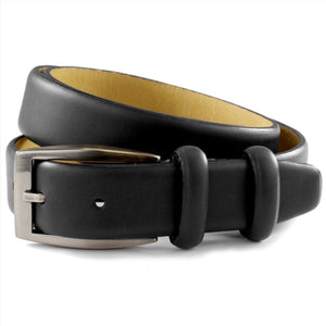 Sophos-Tumbled Full Grain Leather Belt | Eve & Ranshaw