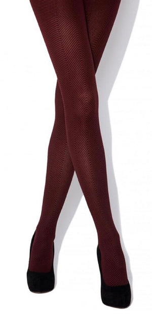 Charnos-Herringbone Tights | Eve & Ranshaw