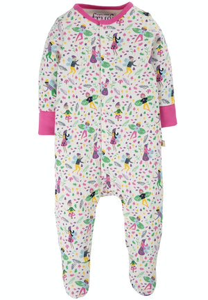 Frugi-Lovely Babygrow Multi Fairy Friends | Eve & Ranshaw