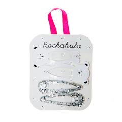 Rockahula-Little Polar Bear Clip Set