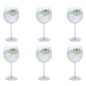Dartington -Party Set of Six Gin Copa Glasses | Eve & Ranshaw