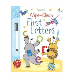 Allsorted-Wipe Clean First Letters Book | Eve & Ranshaw