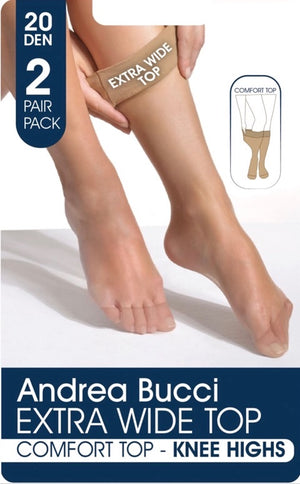 Andrea Bucci-Extra Wide Top 20 Den Knee Highs | Eve & Ranshaw
