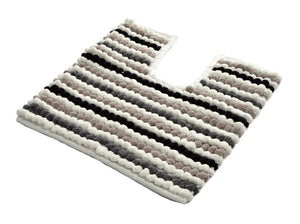 Allure-California Stripe Pedestal Mat | Eve & Ranshaw