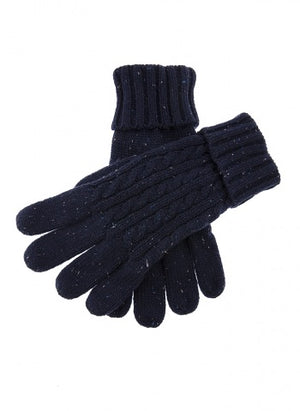 Dents-Mens Cable Knit Gloves
