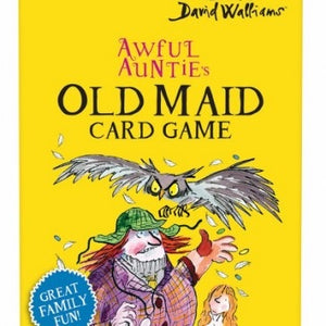 Lagoon- David Walliams-Awful Auntie's Old Maid Card Game | Eve & Ranshaw