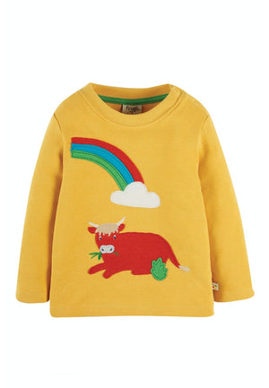 Frugi-Little Discovery Applique Top | Eve & Ranshaw