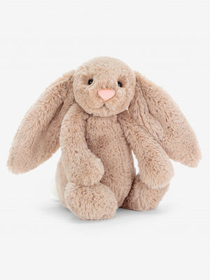 Jellycat-Beige Bashful Medium Bunny | Eve & Ranshaw