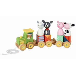 Orange Tree Toys-Farm Animal Puzzle Train | Eve & Ranshaw