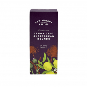 Cartwright & Butler-Lemon Zest Shortbread Rounds Carton | Eve & Ranshaw