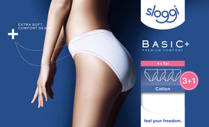 Sloggi-Basic Tai Briefs 3 Pair Pack | Eve & Ranshaw