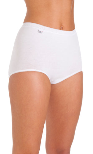 La Marquise-Maxi Briefs  3 Pair Pack White