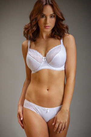 Pour Moi-Electra Brief White | Eve & Ranshaw