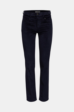 Esprit-Navy Slim Trousers | Eve & Ranshaw