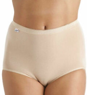 La Marquise-Maxi Briefs 3 Pair Pack Nude