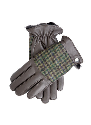 Dents-Mens A Moon Fabric Back Leather Palm Glove | Eve & Ranshaw