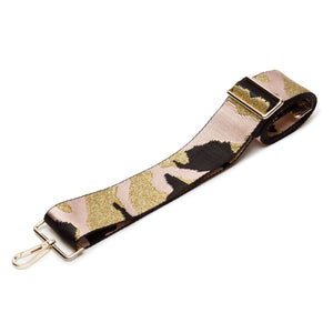 Elie Beaumont-Pink Camouflage Bag Strap