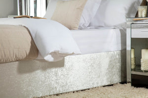 Belledorm-Luxury Crushed Velvet Divan Base Wrap