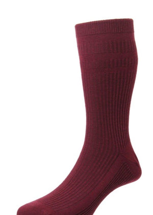 Hj Hall-The Original Cotton Softop Socks | Eve & Ranshaw