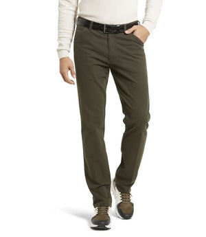 Meyer-Chicago Trousers Green | Eve & Ranshaw