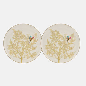 Sara Miller-Chelsea Collection Light Grey Cake Plates | Eve & Ranshaw