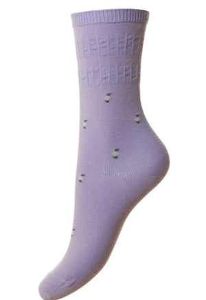 Hj Hall-Ladies Cotton Softop Socks | Eve & Ranshaw
