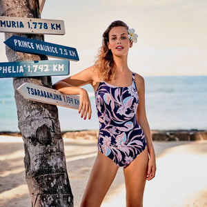 Anita-Carini Night Blue Swimsuit | Eve & Ranshaw